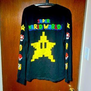 Super Mario Super Nintendo long sleeve tshirt